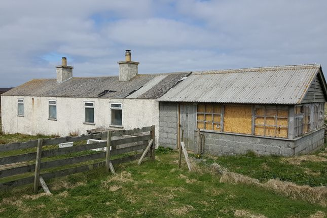Thumbnail Detached bungalow for sale in Hammarhill, Eday, Orkney
