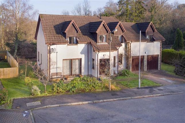 Thumbnail Detached house for sale in Cattermills, Croftamie Glasgow, Glasgow
