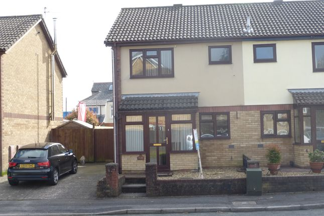 Thumbnail Semi-detached house for sale in Bailey Close, Fairwater, Cardiff