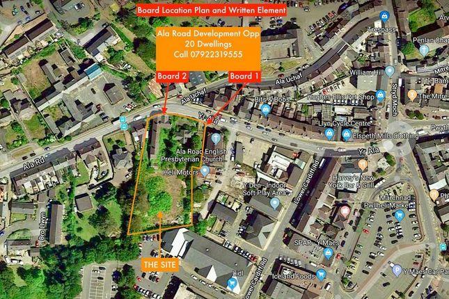 Thumbnail Land for sale in Ala Road, Gwynedd, Pwllheli