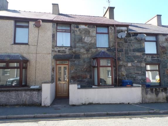 Thumbnail Terraced house for sale in Rhedyw Road, Llanllyfni, Caernarfon