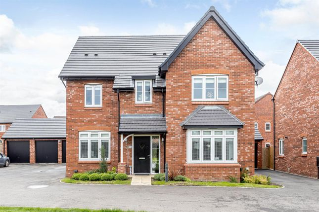 Thumbnail Detached house for sale in Olive Grove, Warwick, Warwickshire