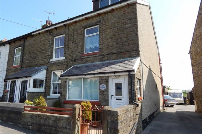Thumbnail End terrace house for sale in Meadow Lane, Dove Holes, Derbyshire