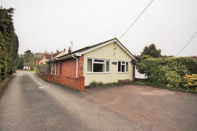 Thumbnail Detached bungalow for sale in High Road, Layer-De-La-Haye, Colchester, Essex