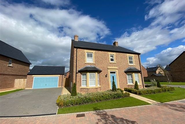 Thumbnail Detached house for sale in Rodor Close, Carlisle, Cumbria