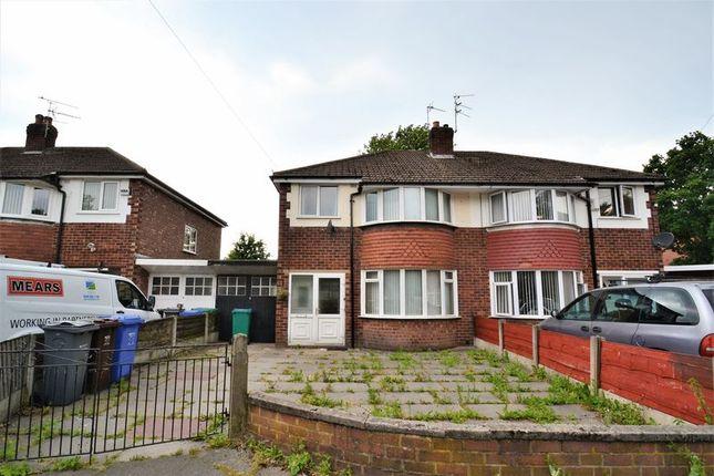 Thumbnail Semi-detached house for sale in Buckingham Road, Chorlton-Cum-Hardy, Manchester