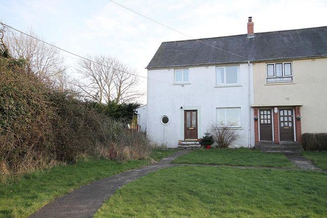 Thumbnail End terrace house for sale in Maesgerran, Cilgerran, Cardigan
