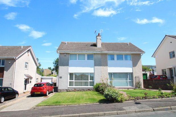Thumbnail Semi-detached house to rent in Dunedin Drive, East Kilbride