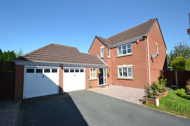Thumbnail Detached house for sale in Goodrich Close, Muxton, Telford