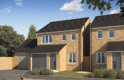 "Thumbnail Semi-detached house for sale in ""The Rufford"" at Hardys Road, Bathpool, Taunton"