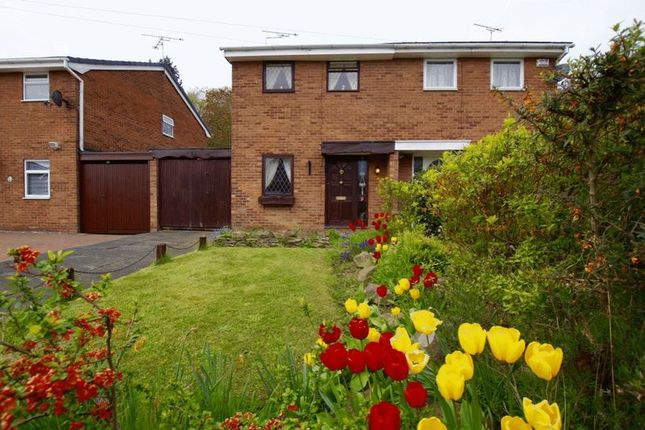 Thumbnail Semi-detached house for sale in Ashburn Way, Wrexham