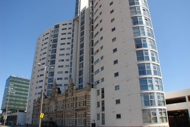 Thumbnail 2 bed flat to rent in Altolusso, City Centre, Cardiff