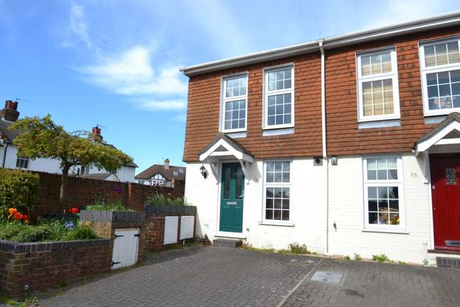 2 bed end terrace house to rent in Beaconsfield Place, Epsom KT17