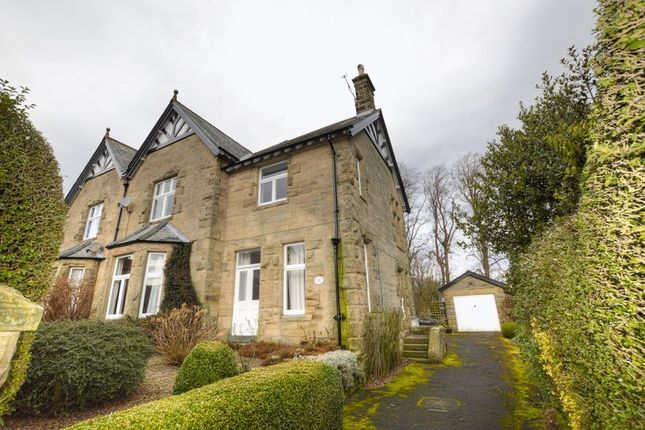 Thumbnail Semi-detached house for sale in Swansfield Park Road, Alnwick, Northumberland