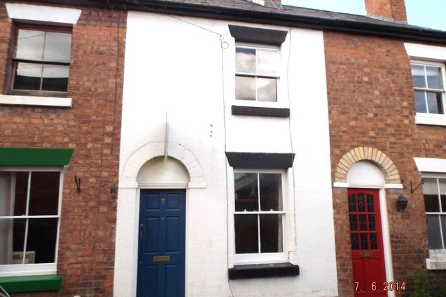 Thumbnail Terraced house to rent in Brougham Square, Trinity Street, Shrewsbury