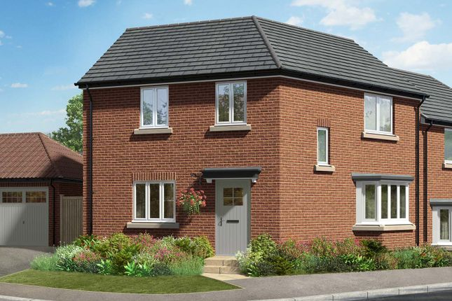 """Thumbnail Semi-detached house for sale in """"The Winslow"""" at Hill Top Close, Market Harborough"""