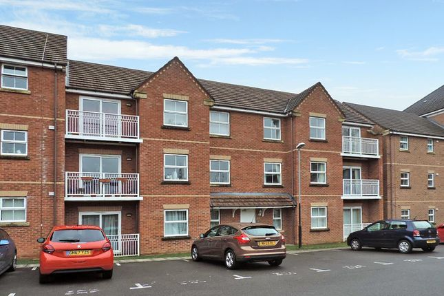 Front of Pipkin Court, Parkside, Coventry. CV1
