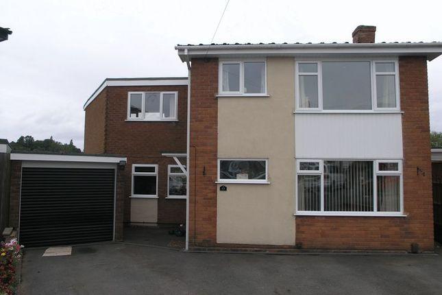 Thumbnail Detached house for sale in Hanley Close, Halesowen