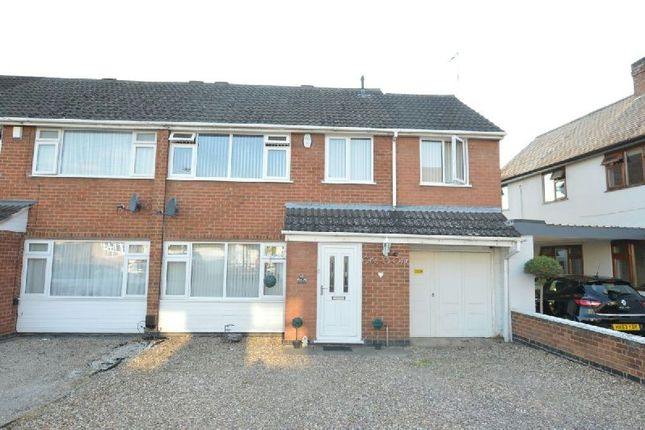 Thumbnail Semi-detached house for sale in High Street, Whetstone, Leicester