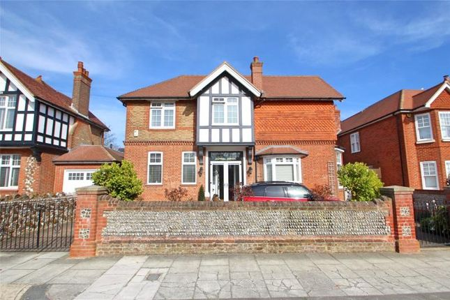 Thumbnail Detached house for sale in Madeira Avenue, Worthing, West Sussex