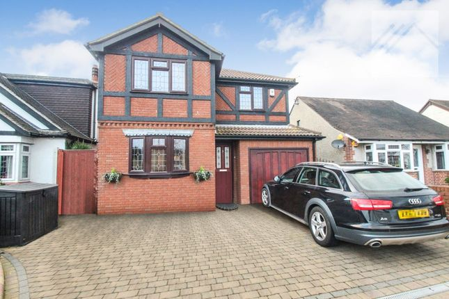 Thumbnail Detached house for sale in Common Approach, Benfleet