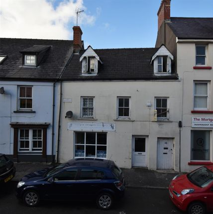 Thumbnail Commercial property for sale in Bank Row, Dew Street, Haverfordwest