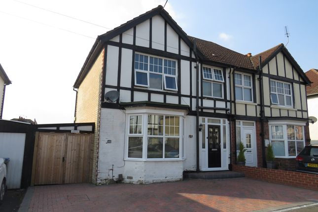 Thumbnail Semi-detached house for sale in Westfield Road, Southampton