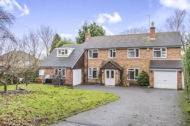 Thumbnail Detached house for sale in Uppingham Road, Thurnby, Leicester, Leicestershire