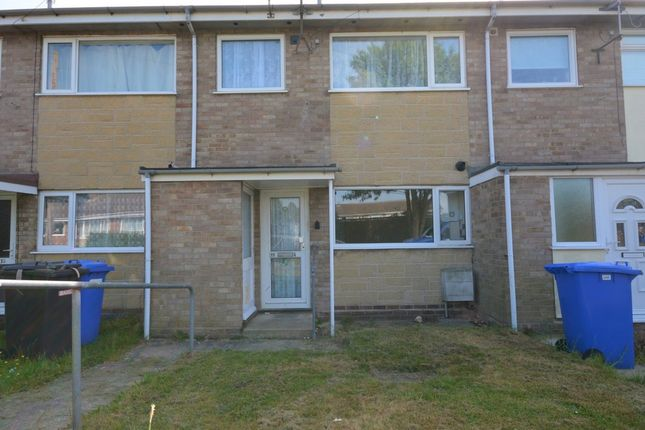 Thumbnail Terraced house to rent in Patricia Close, Lowestoft