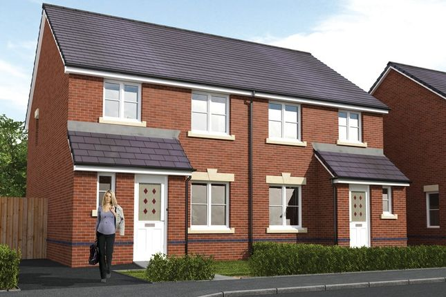 Thumbnail 3 bed semi-detached house for sale in The Bayswater, Pontyclun, Rhondda Cynon Taff