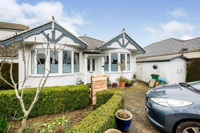 Thumbnail Bungalow for sale in New Dover Road, Capel-Le-Ferne, Folkestone, Kent