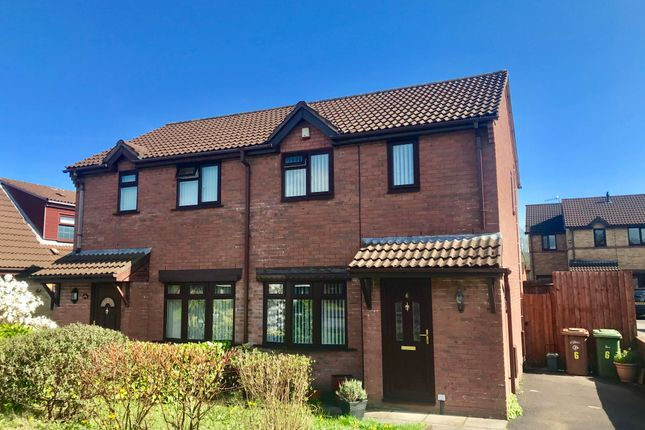 Thumbnail Property to rent in Heol Erw Y Rhos, Caerphilly