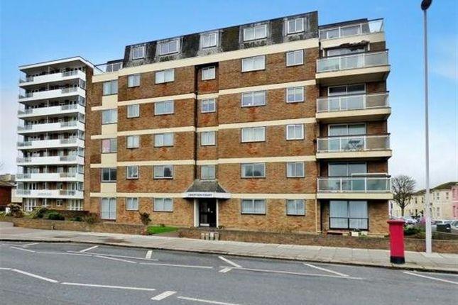 Thumbnail Flat to rent in Hampton Court, Brighton Road, Worthing