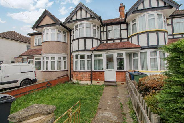 Thumbnail Terraced house to rent in Kenmore Avenue, Kenton, Harrow