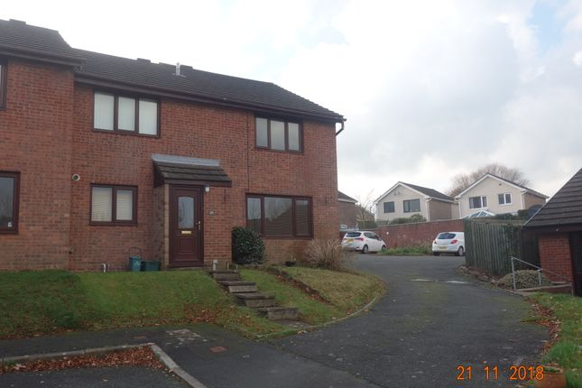 Thumbnail End terrace house to rent in Milton Close, Priory Park, Haverfordwest