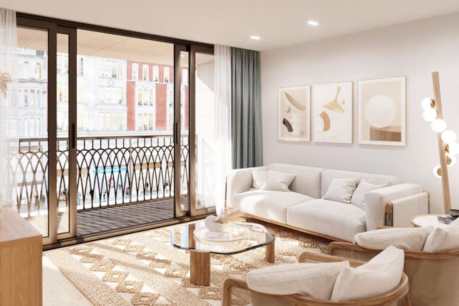 1 bed flat for sale in Moxon Street, Marylebone, London W1U