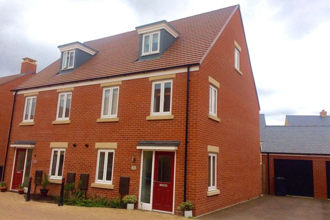 Thumbnail Semi-detached house for sale in Turing Road, Biggleswade