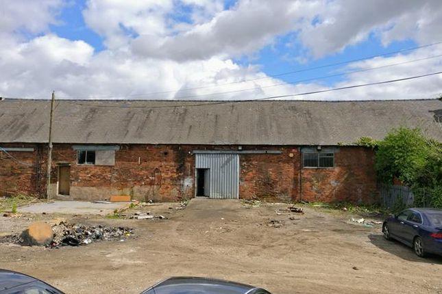 Thumbnail Commercial property to let in Unit 13 Shardlow Ind. Estate, Cavendish Bridge, Shardlow