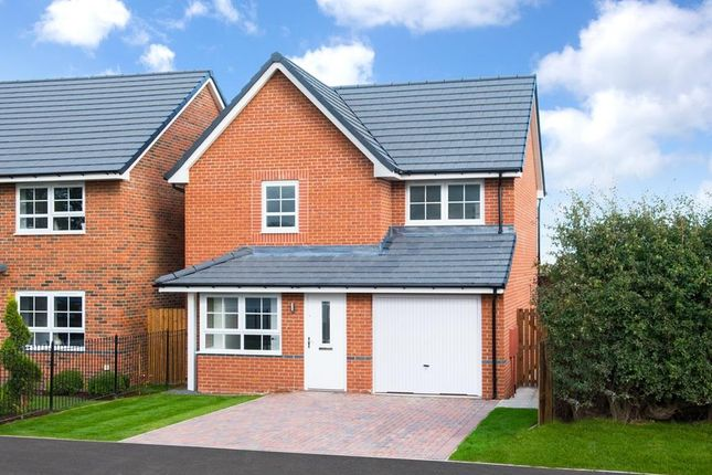 """3 bedroom detached house for sale in """"Derwent"""" at Hebron Avenue, Pegswood, Morpeth"""