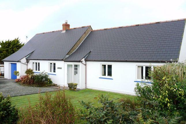 Thumbnail Detached bungalow for sale in Draenen Ddu, Pen-Y-Groes, Croesgoch, Haverfordwest, Pembrokeshire