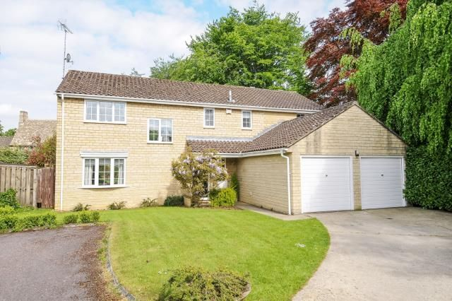 Thumbnail Detached house for sale in Vanner Road, Witney