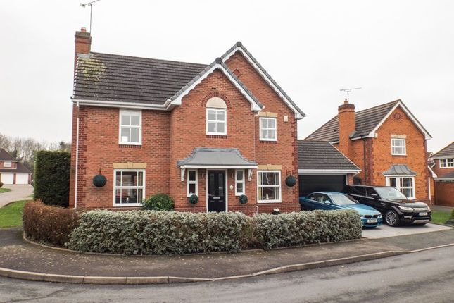 Thumbnail Detached house for sale in Dockeray Avenue, Warndon, Worcester