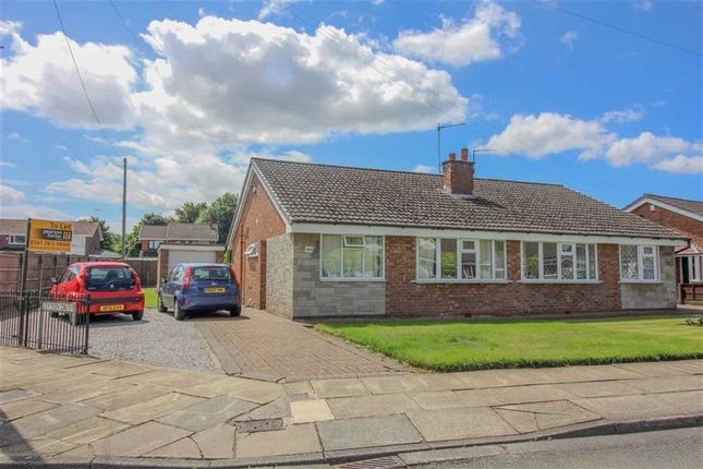 Thumbnail Semi-detached bungalow to rent in Leyton Drive, Bury, Greater Manchester