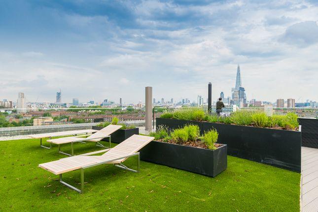 Roof Terrace of Trafalgar Place, Elephant & Castle, London SE17