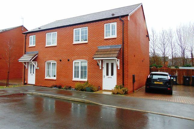 Thumbnail Semi-detached house for sale in Rowan Place, Bidford On Avon