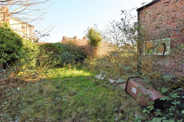 Backgarden of Seymour Street, Tranmere, Birkenhead CH42