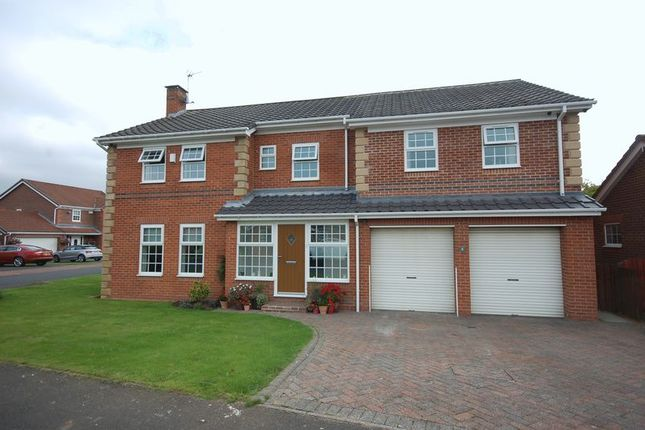 Thumbnail Detached house for sale in Paddock Hill, Ponteland, Newcastle Upon Tyne