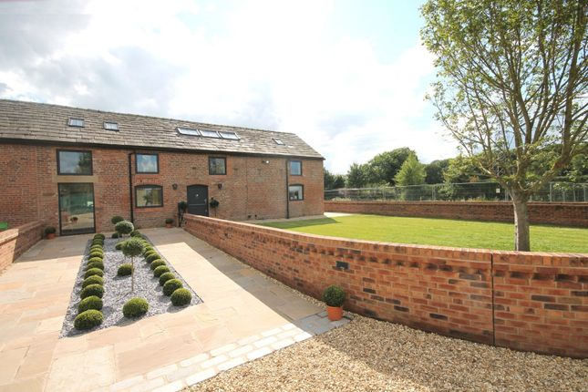 Thumbnail Barn conversion for sale in Yatehouse Lane, Byley, Middlewich