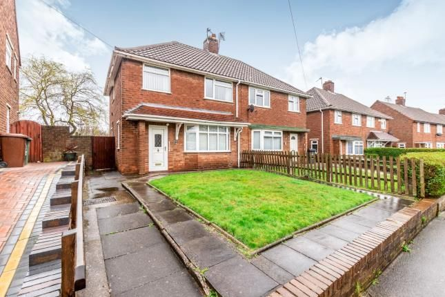 Thumbnail Semi-detached house for sale in Mountbatten Road, Walsall, West Midlands