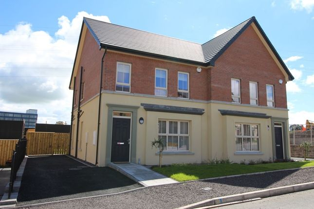 Thumbnail Semi-detached house for sale in Lynn Hall Park, Rathgael Road, Bangor